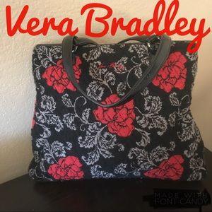 Vera Bradley wool shopper tote